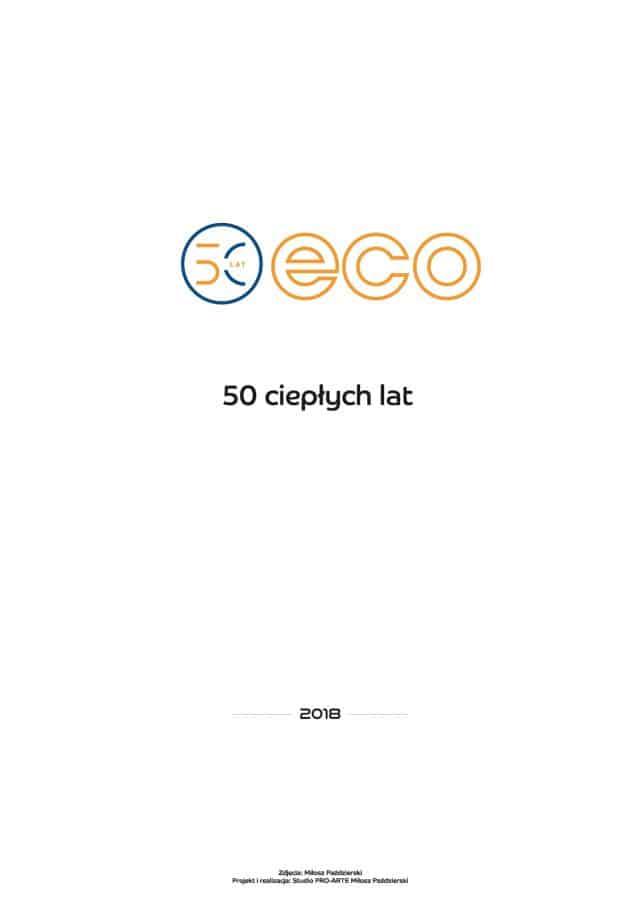Kalendarz ECO 2018 - Okładka