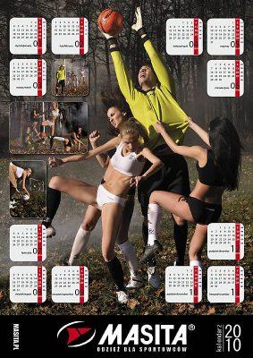 Kalendarz Masita 2010 - Okładka